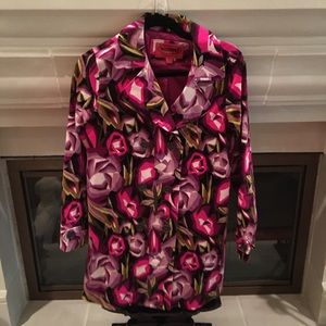 Fits Adults! Missoni for Target Floral Trench Coat